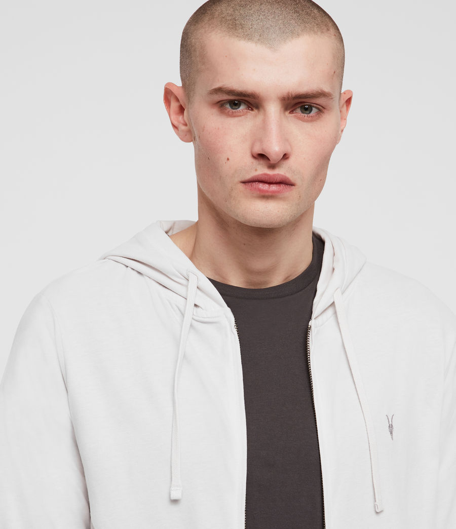 Hombres Brace Hoodie (oyster) - Image 2