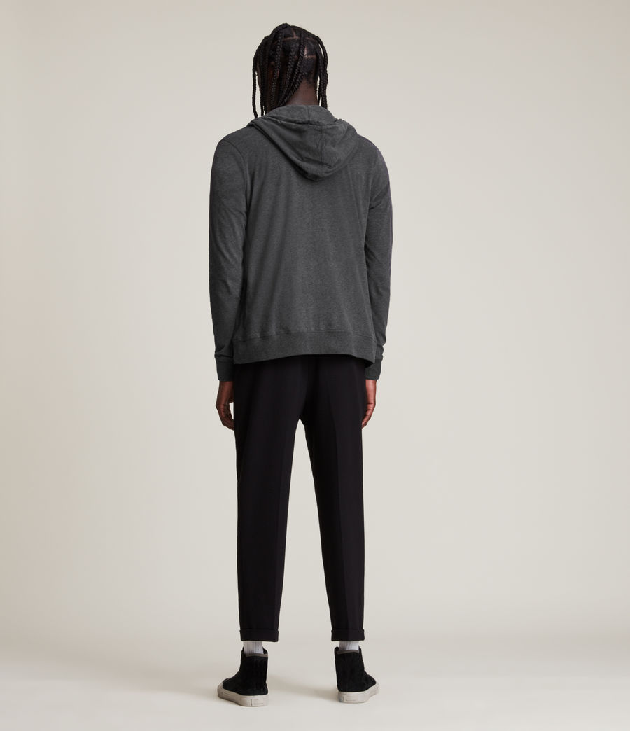 Hombres Sudadera con capucha Brace (charcoal_marl) - Image 4