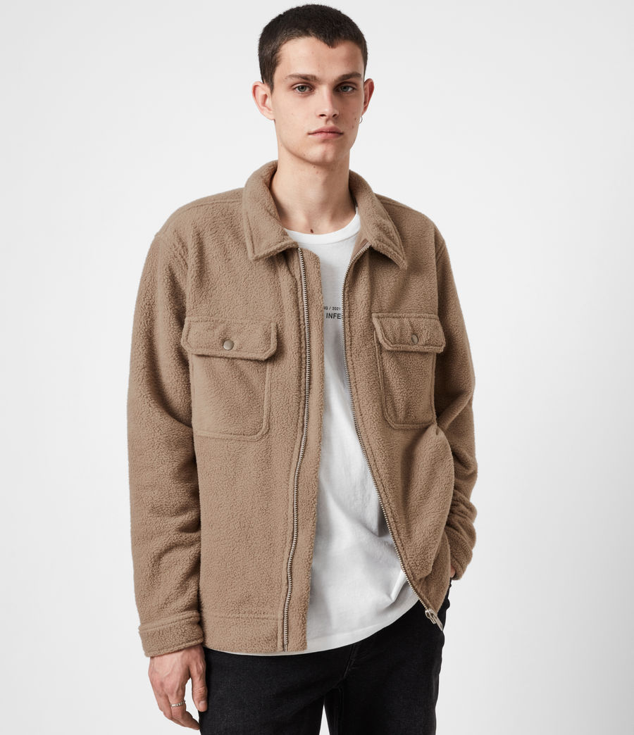 Men's Clayton Jacket (mangrove_brown) - Image 7