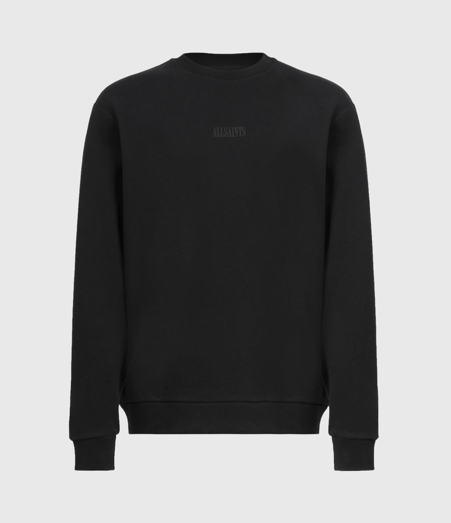 Men's Element Crew Sweatshirt (jet_black) - Image 2