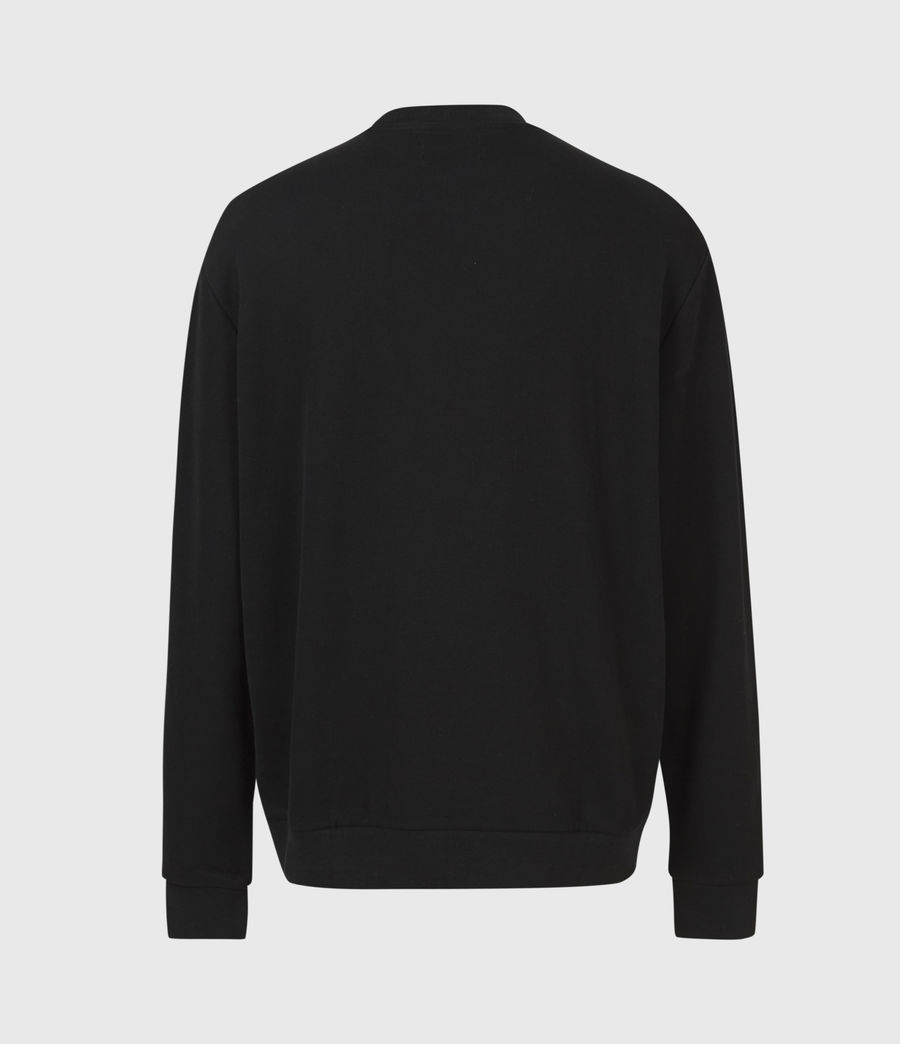 Men's Element Crew Sweatshirt (jet_black) - Image 3