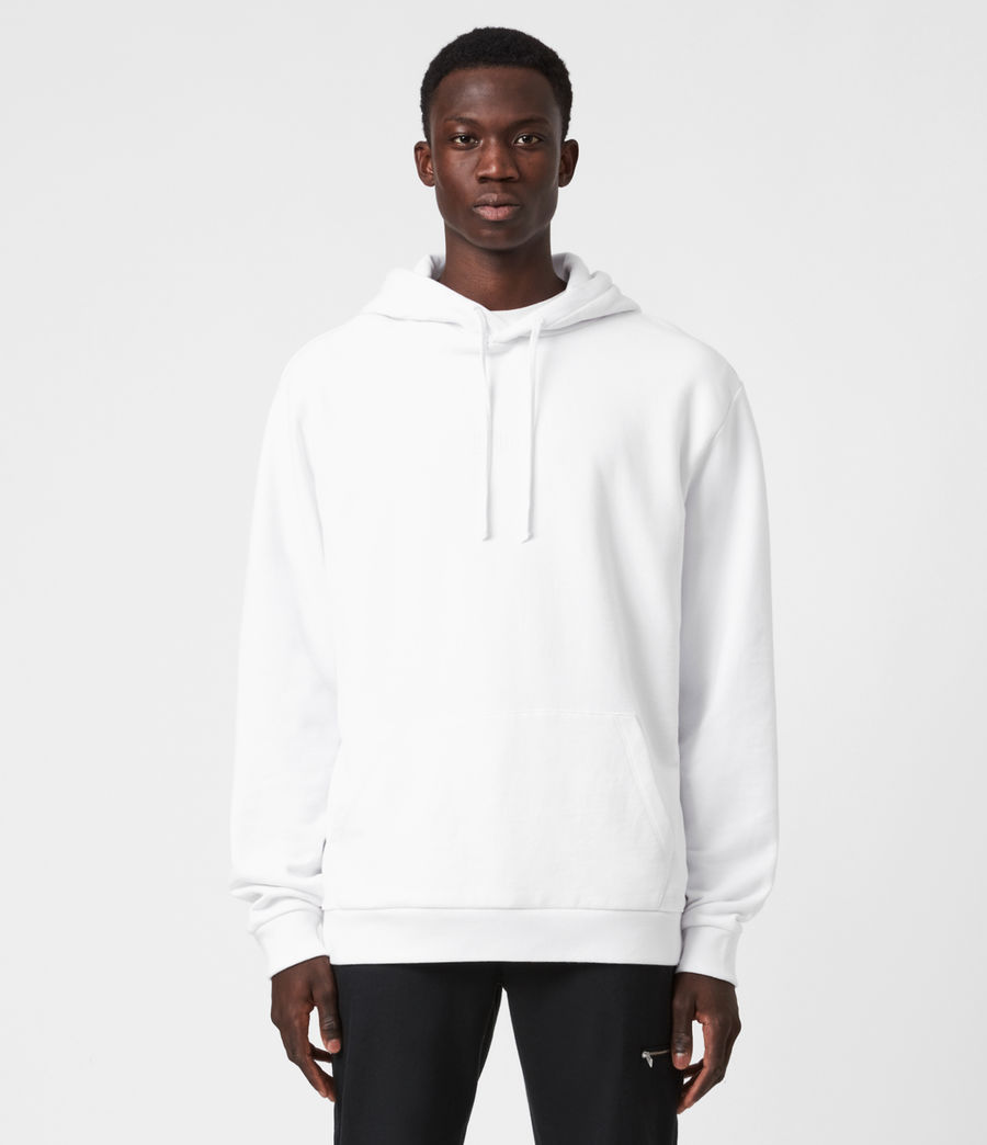 Mens Element Pullover Hoodie (optic_white) - Image 1