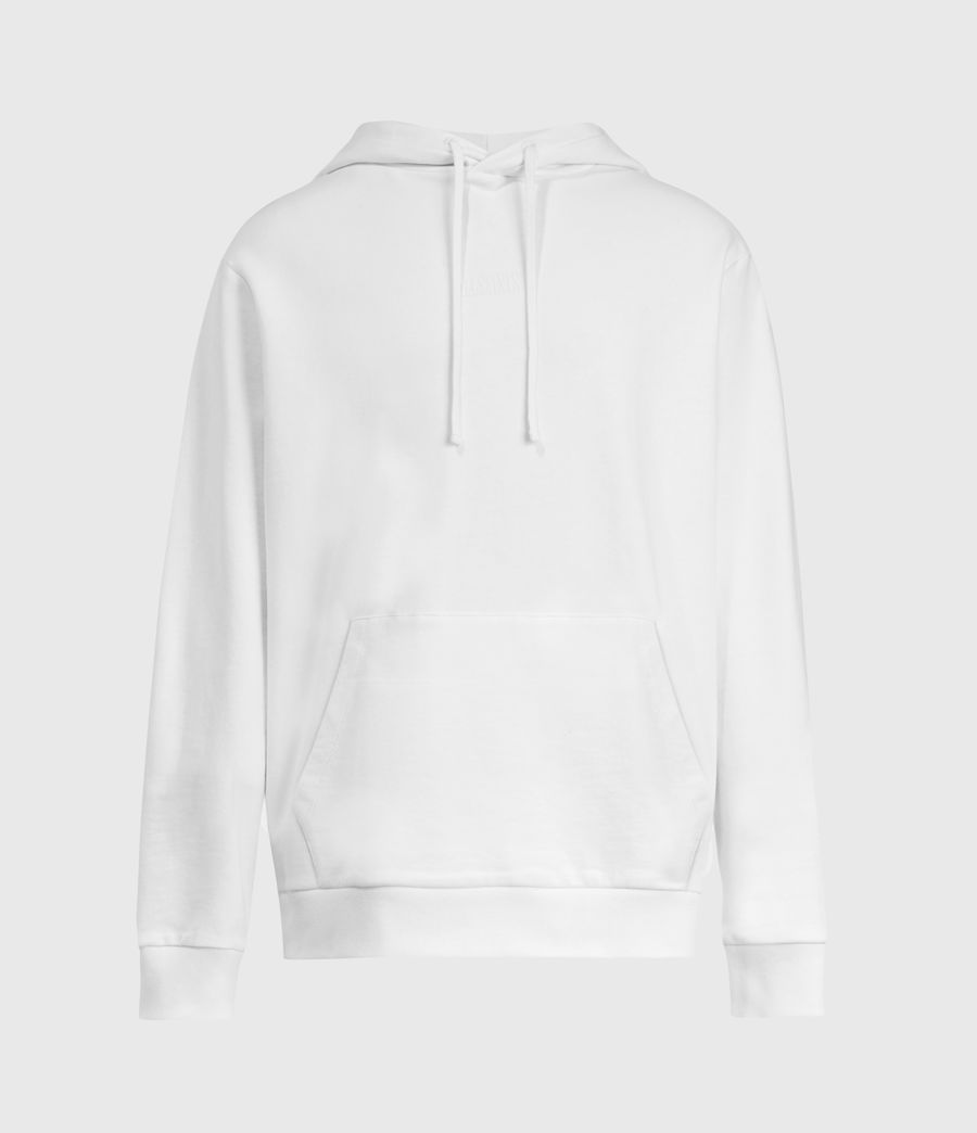 Mens Element Pullover Hoodie (optic_white) - Image 2