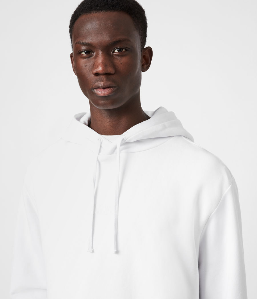 Mens Element Pullover Hoodie (optic_white) - Image 4