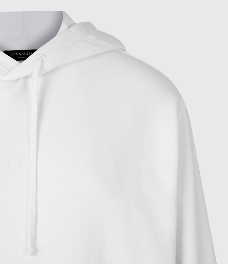 Mens Element Pullover Hoodie (optic_white) - Image 5