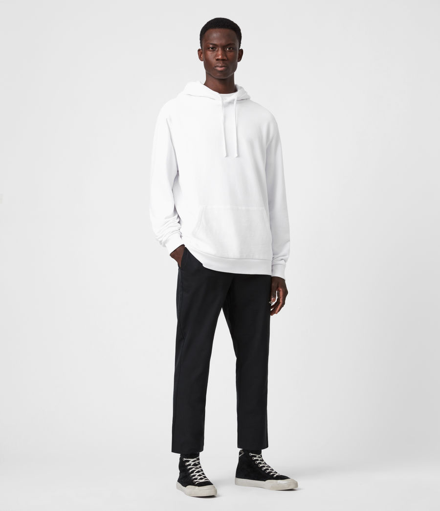 Mens Element Pullover Hoodie (optic_white) - Image 7