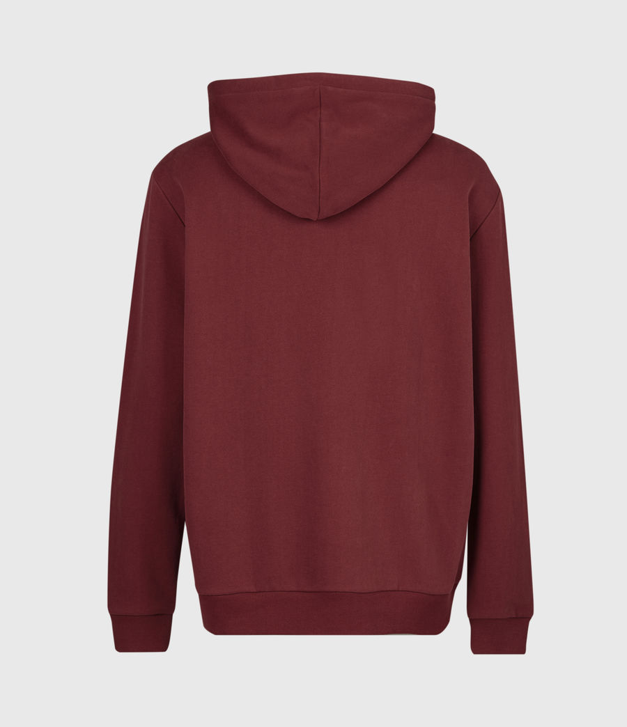 Men's Element Pullover Hoodie (juneberry_red) - Image 3