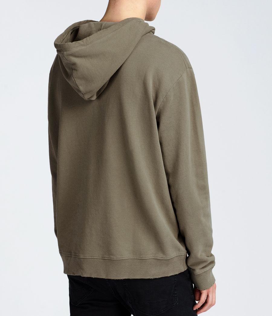 Hombre Sudadera con capucha Vigo Zip (trench_khaki) - Image 4