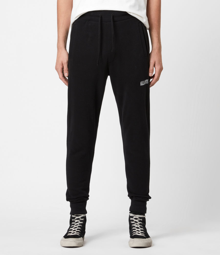 Mens State Slim Cuffed Sweatpants (jet_black) - Image 1