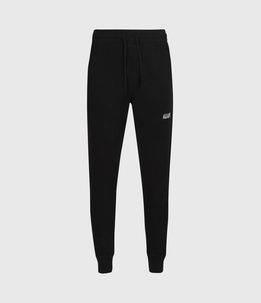 Mens State Slim Cuffed Sweatpants (jet_black) - Image 2