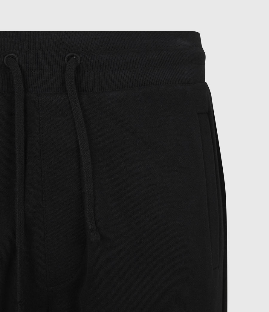 Mens State Slim Cuffed Sweatpants (jet_black) - Image 5