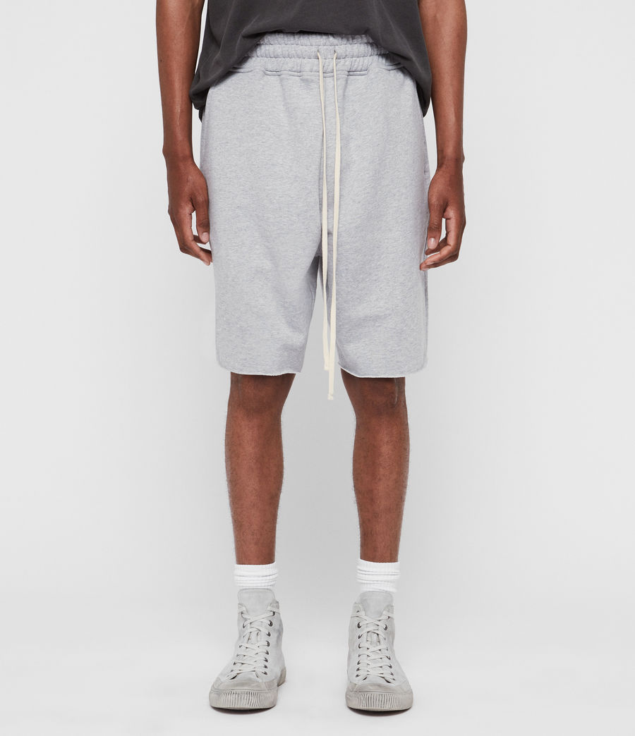 Mens Avio Sweat Shorts (grey_marl) - Image 1