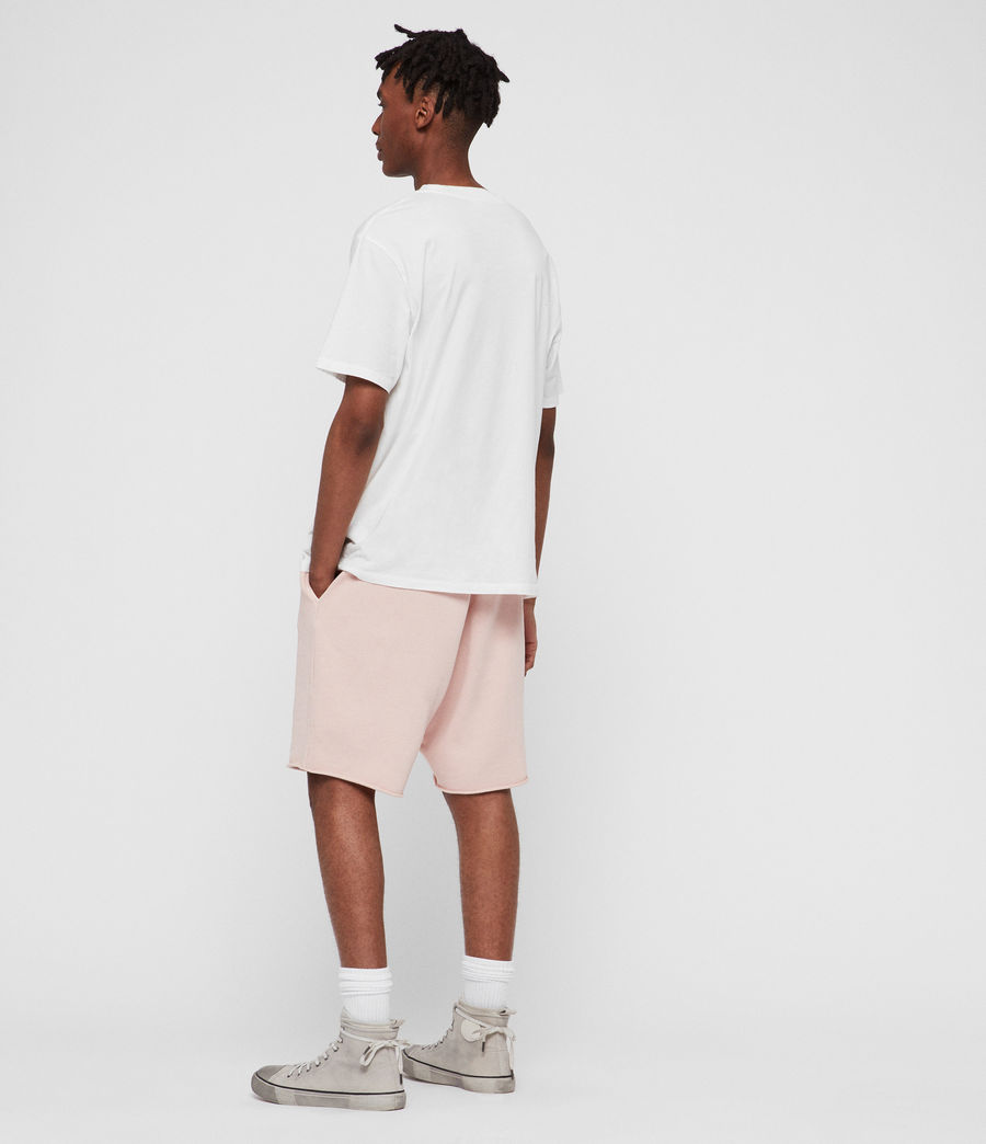 Men's Avio Sweat Shorts (bleach_pink) - Image 5