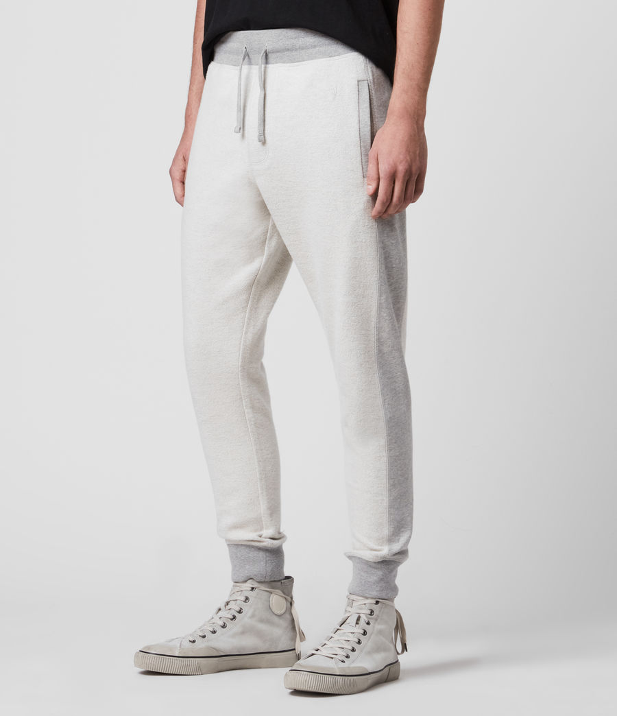 Hombre Reverser Cuffed Slim Sweatpants (mid_grey_marl) - Image 4