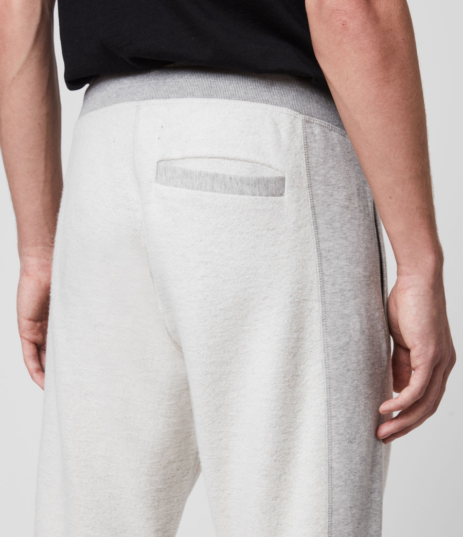 Hombre Reverser Cuffed Slim Sweatpants (mid_grey_marl) - Image 5