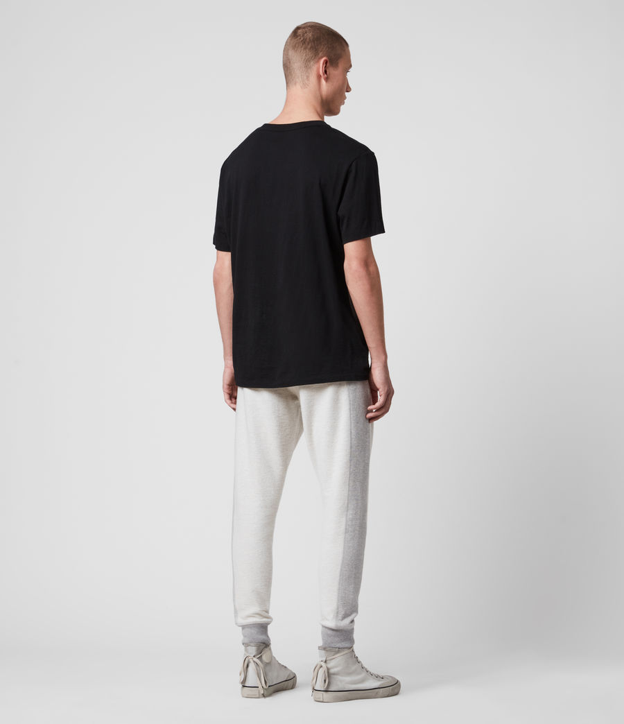 Hombre Reverser Cuffed Slim Sweatpants (mid_grey_marl) - Image 6