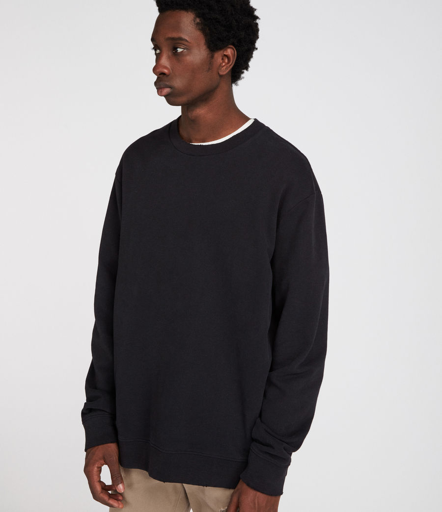 Men's Vigo Sweatshirt (vintage_black) - Image 2