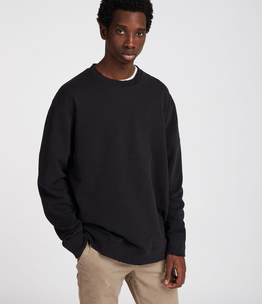 Men's Vigo Sweatshirt (vintage_black) - Image 3