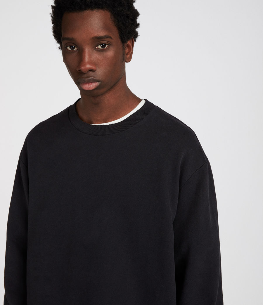 Men's Vigo Sweatshirt (vintage_black) - Image 4