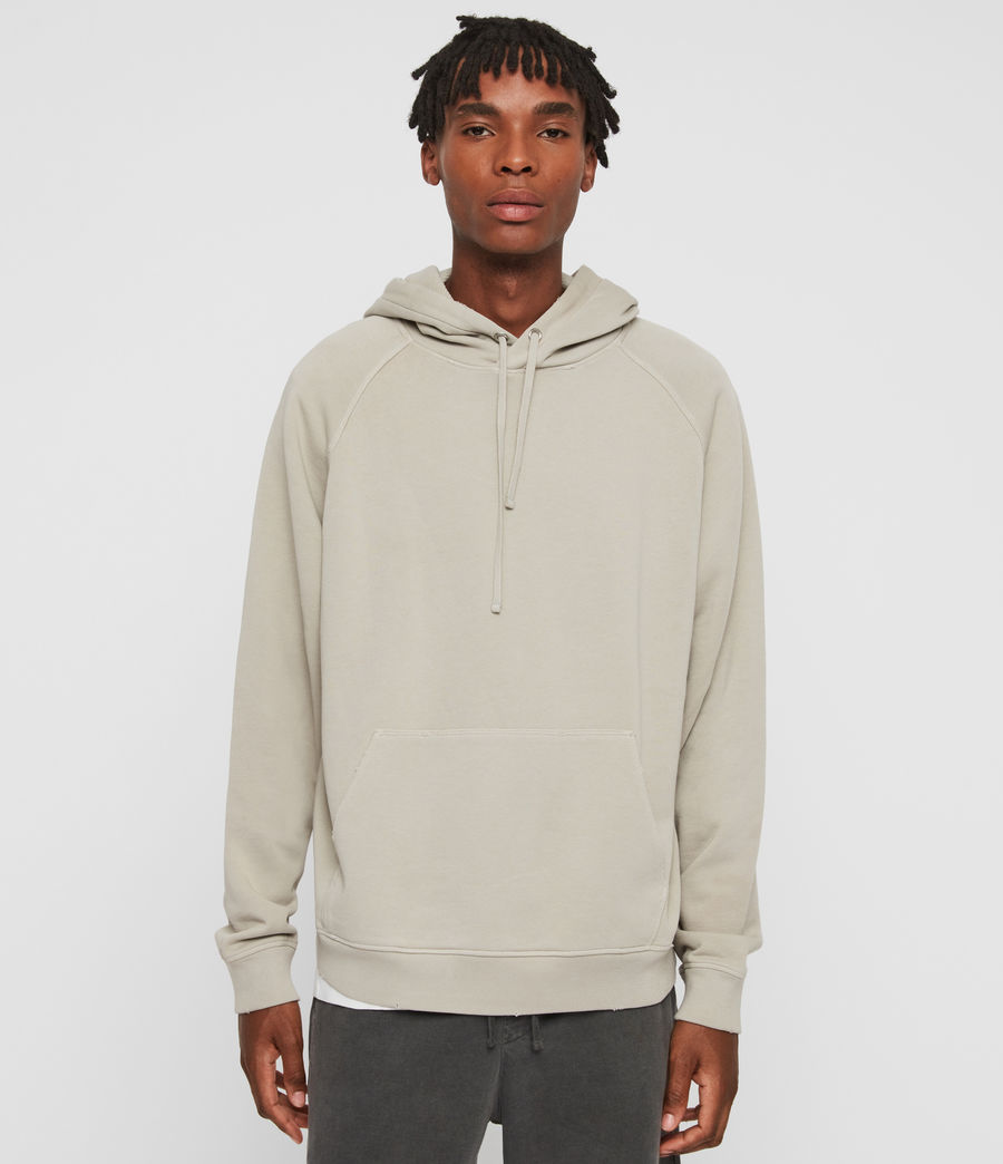 Mens Coil Pullover Hoodie (cement_grey) - Image 1