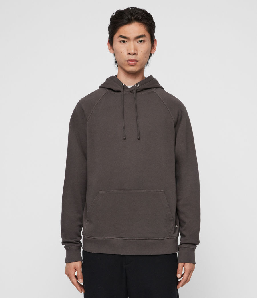 Mens Coil Pullover Hoodie (black) - Image 1