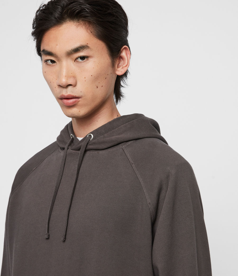 Mens Coil Pullover Hoodie (black) - Image 2