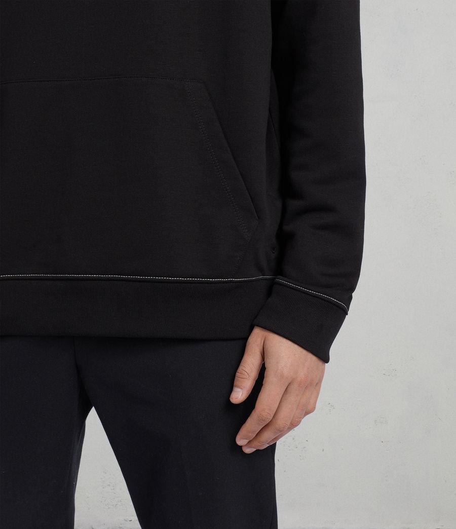 Hombres Sudadera con capucha Sambic (jet_black) - Image 4