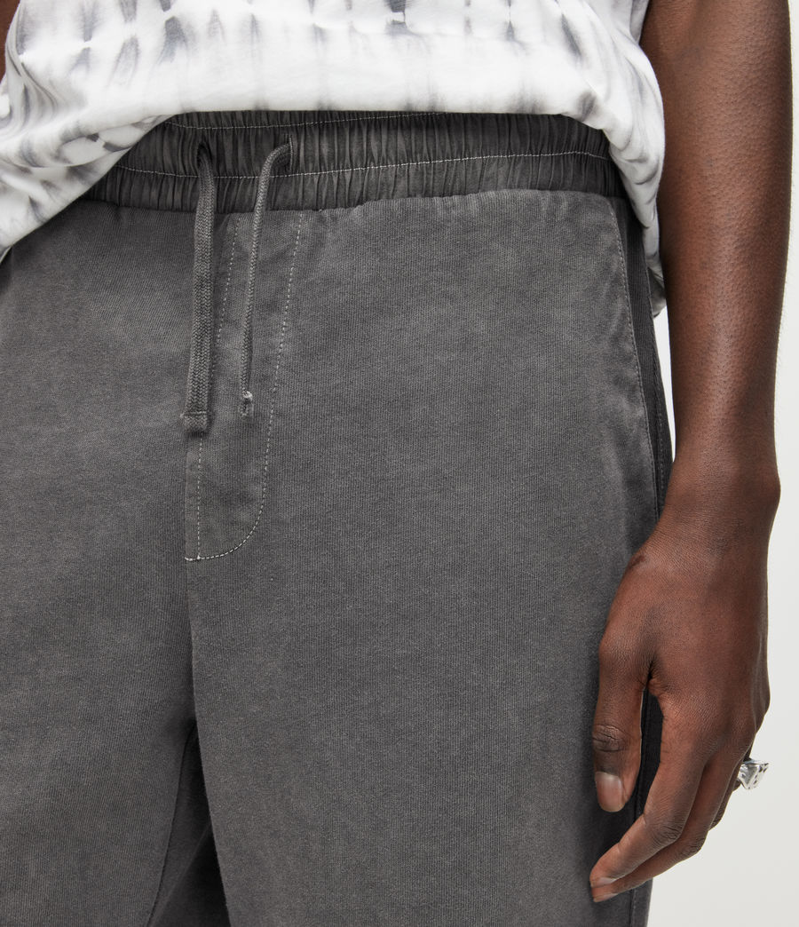 Herren Pierce Sweatshorts (washed_black) - Image 3