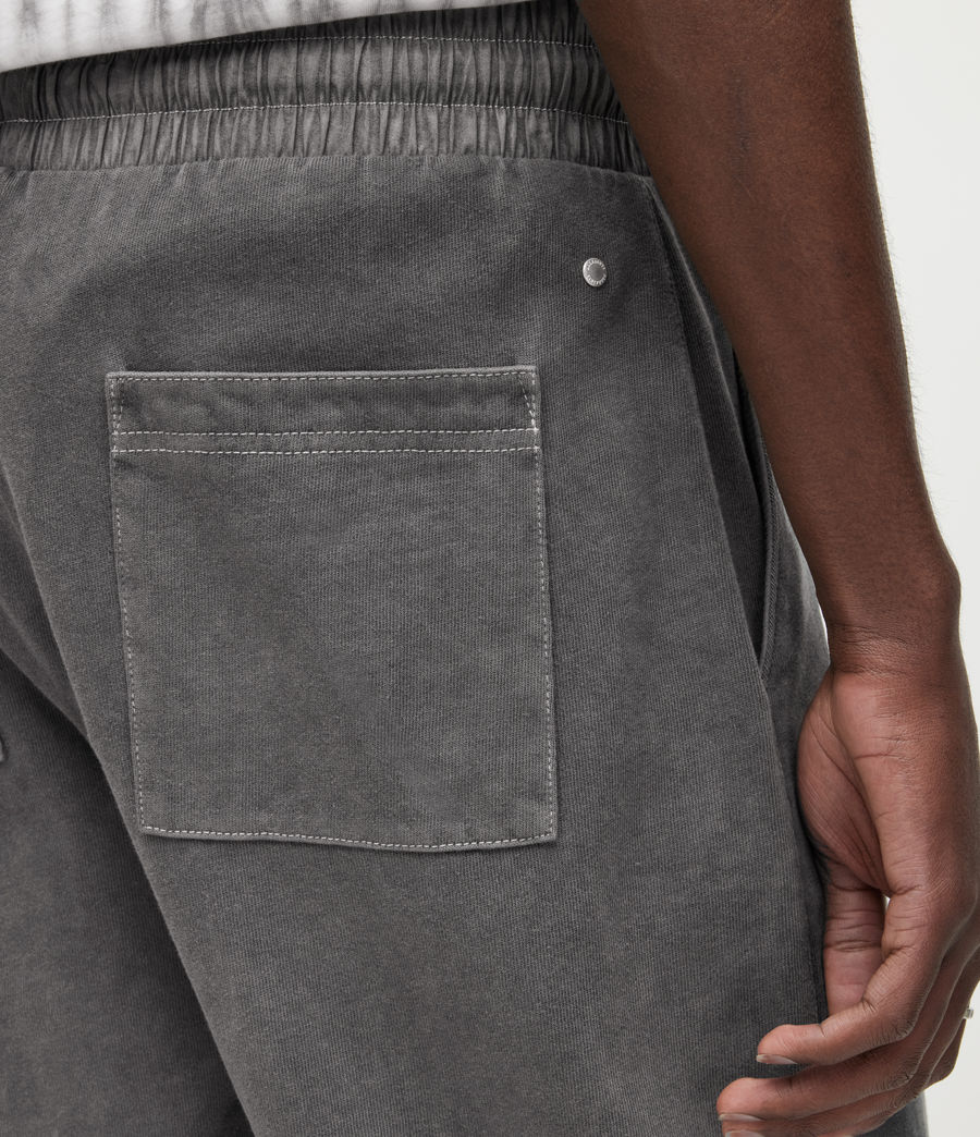 Uomo Shorts Pierce (washed_black) - Image 4