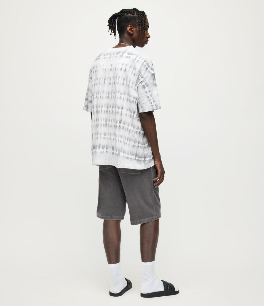 Herren Pierce Sweatshorts (washed_black) - Image 5