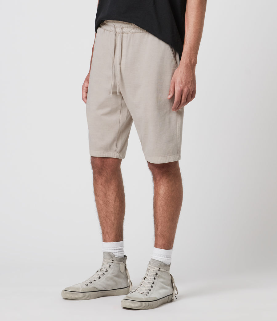 Mens Pierce Sweat Shorts (stone_grey) - Image 2
