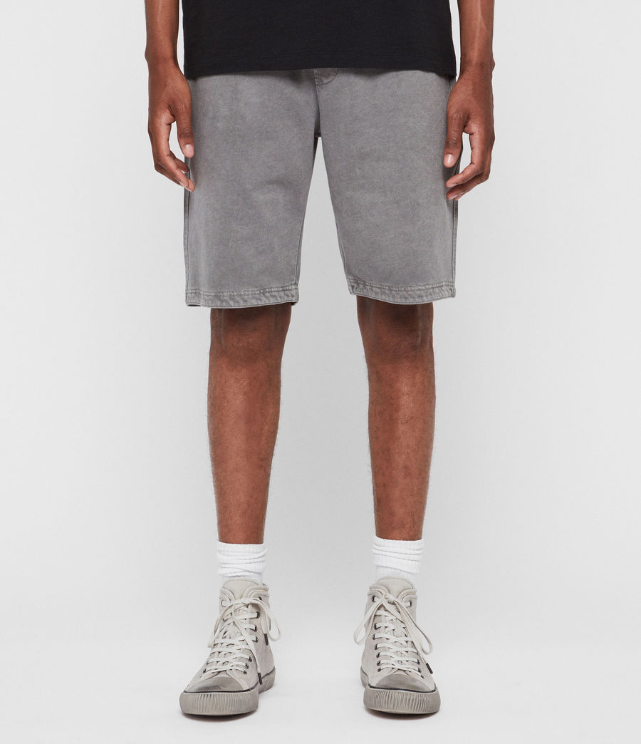 Mens Pierce Sweat Shorts (grey) - Image 1