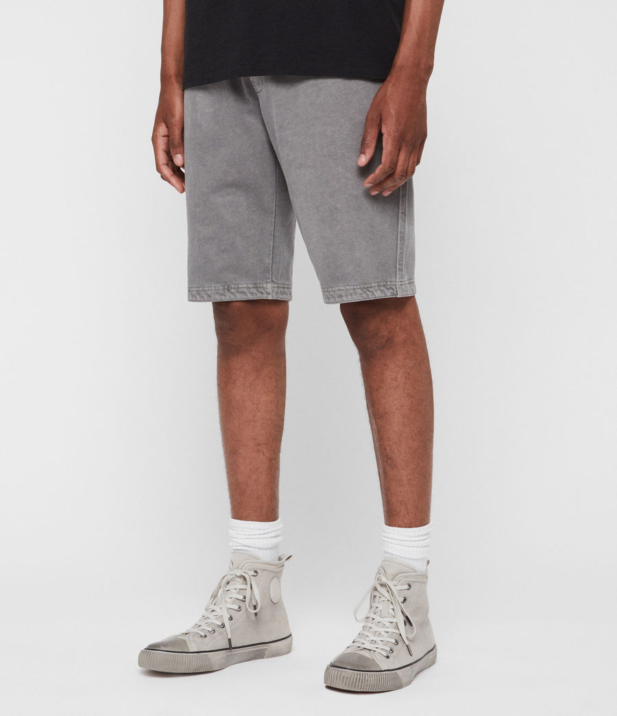 Mens Pierce Sweat Shorts (grey) - Image 2