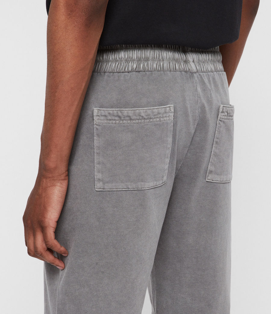 Mens Pierce Sweat Shorts (grey) - Image 5