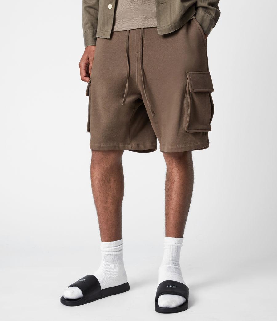 Hommes Short Jogging Ellis (washed_khaki_brown) - Image 4