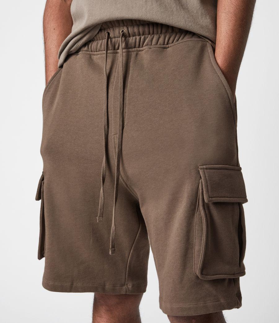 Hommes Short Jogging Ellis (washed_khaki_brown) - Image 6