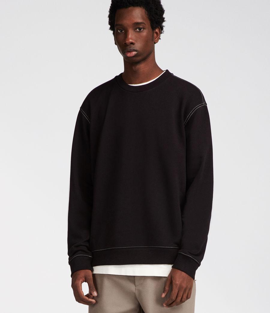 Men's Sambic Sweatshirt (jet_black) - Image 1