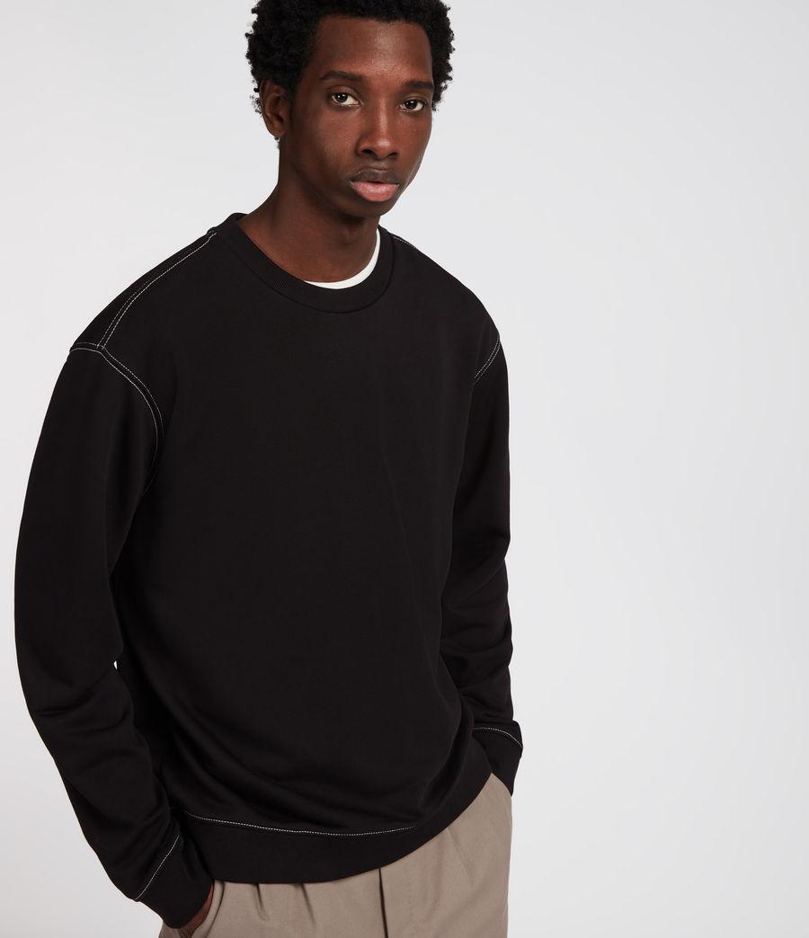 Men's Sambic Sweatshirt (jet_black) - Image 3