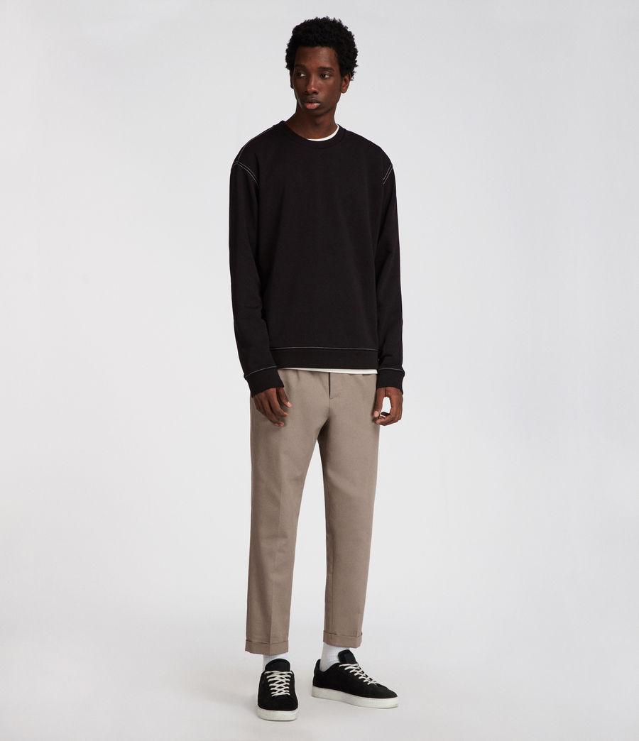 Men's Sambic Sweatshirt (jet_black) - Image 4