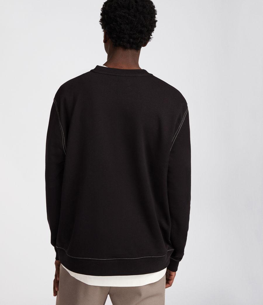 Men's Sambic Sweatshirt (jet_black) - Image 5