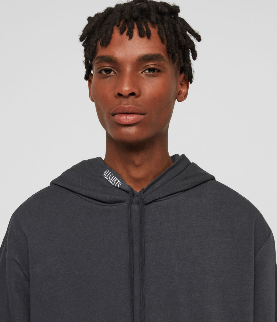 Men's Vival Pullover Hoodie (washed_black) - Image 3