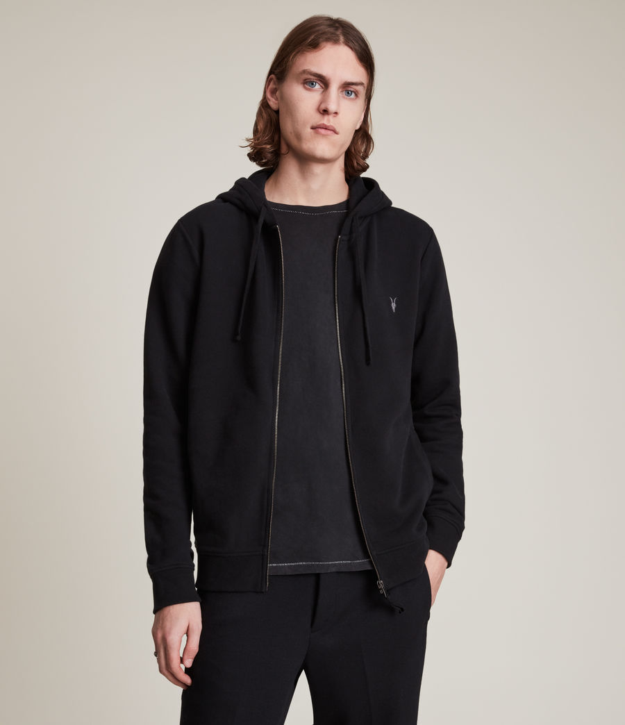 Men's Raven Hoody (Black) - Image 1