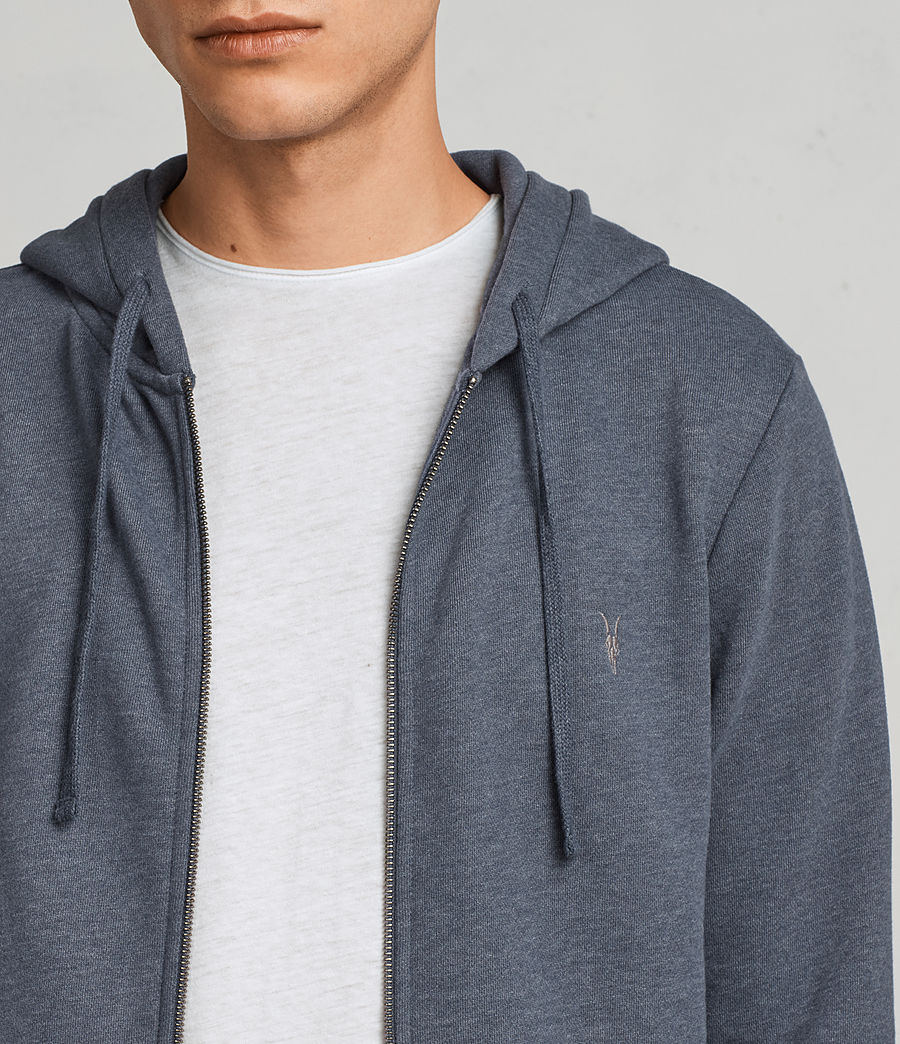 Men's Raven Hoody (washed_navy_marl) - Image 2