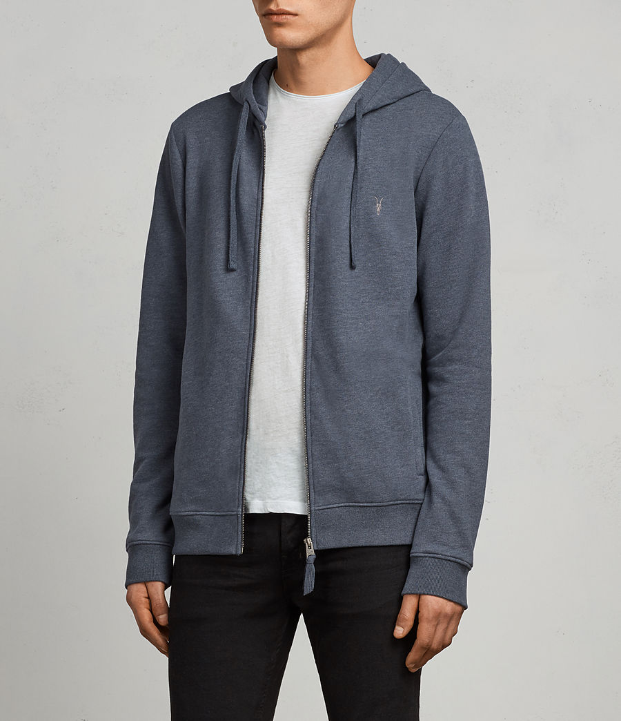 Men's Raven Hoody (washed_navy_marl) - Image 3