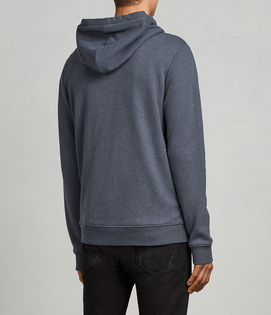 Men's Raven Hoody (washed_navy_marl) - Image 4