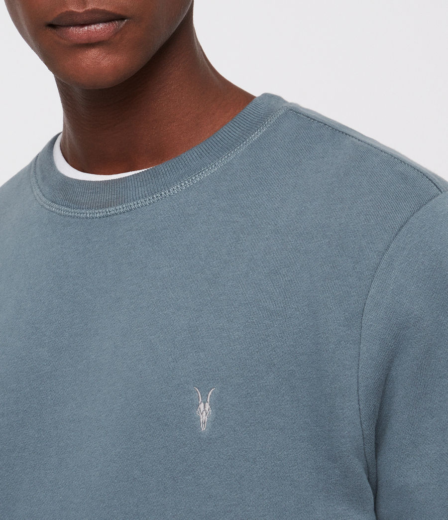 Mens Raven Crew Sweatshirt (chambray_blue) - Image 2