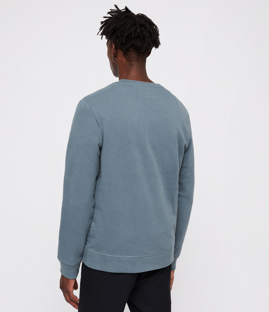 Mens Raven Crew Sweatshirt (chambray_blue) - Image 3
