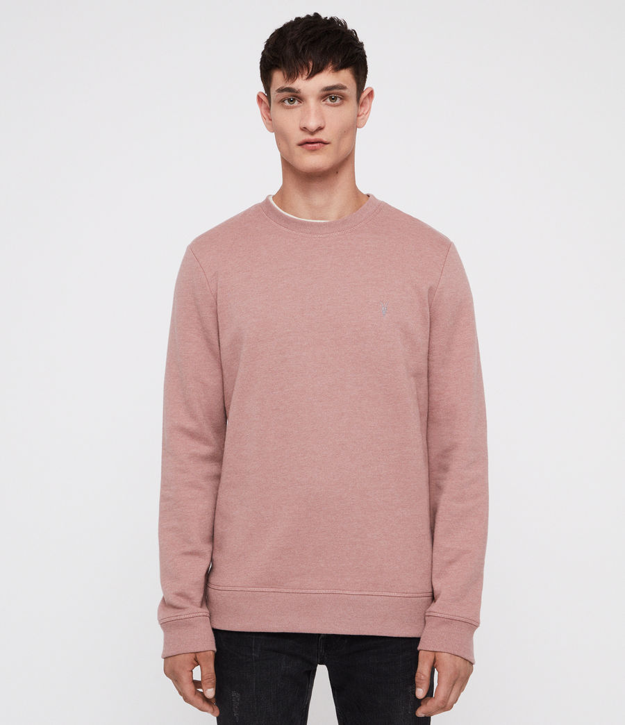 Men's Raven Crew Sweatshirt (clay_red_marl) - Image 1