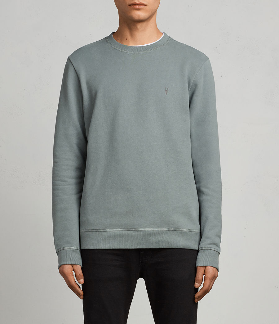 Men's Raven Crew Sweatshirt (larch_green) - Image 1