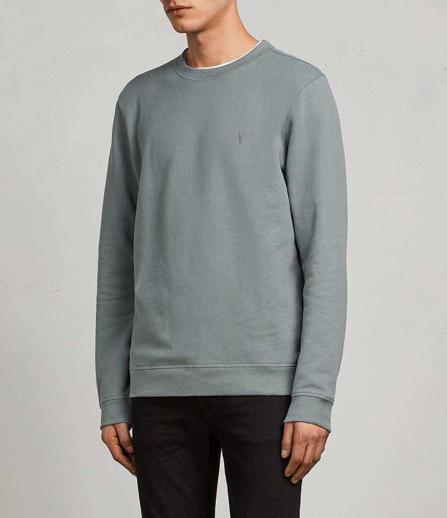 Men's Raven Crew Sweatshirt (larch_green) - Image 3